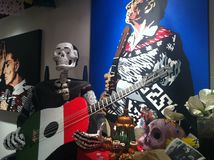 Day of the Dead Exhib Stock Image