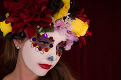 Day of The Dead Female Stock Images