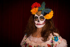 Day of The Dead Female Royalty Free Stock Images
