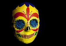 Day of the Dead Festival Mask Stock Images