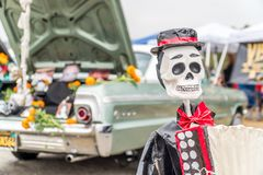 Day of the Dead figurine Royalty Free Stock Photo