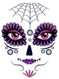 Day of Dead Girl Face Royalty Free Stock Photo