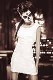 Day of the dead girl royalty free stock photo