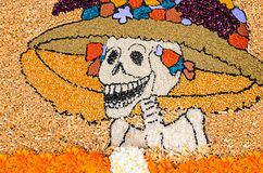 Day of the dead mexican catrina Stock Photos