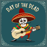 Day of the Dead Mexican Musician Stock Photography