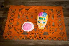 Day of the Dead in Mexico. royalty free stock photography