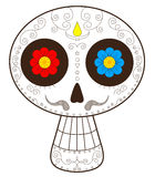 Day of the dead mexico vector illustration Stock Photos