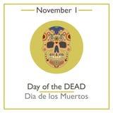 Day of the Dead. November 1 Stock Photos