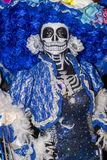 Day of the Dead. OAXACA , MEXICO - NOV 02 : Unknown participant on a carnival of the Day of the Dead in Oaxaca, Mexico, on November 02 2015. The Day of the Dead stock photography