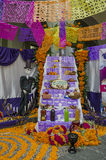 Day of the dead offering altar Stock Image