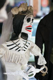 Day of the dead skeleton. Day of the dead holiday in Latin or Hispanic tradition. A skeleton Stock Image