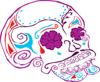 Day of the dead skull Stock Photos