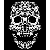 day of the dead skull Stock Image