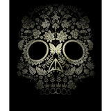 day of the dead skull royalty free illustration