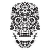 day of the dead skull stock illustration