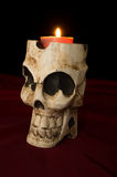 Day of The Dead Skull Candle royalty free stock images