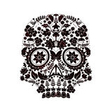 Day of the dead skull design Stock Images