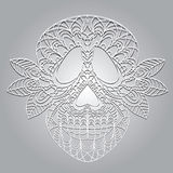 Day of the Dead  Skull Stock Photo