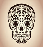 Day of the Dead Skull - tattoo skull Stock Photos