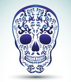 Day of the Dead Skull - tattoo skull Royalty Free Stock Photo