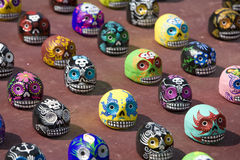 Day of the Dead Skulls 2 Royalty Free Stock Photography