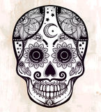 Day of the Dead sugar scull. Royalty Free Stock Photo
