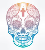Day of the Dead sugar scull. Royalty Free Stock Image