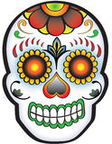 Day of the dead Sugar Skull. Cool fun Day of the Dead Sugar Skull design, also available in format stock illustration