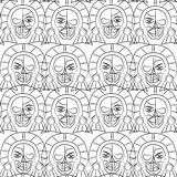 Day of the Dead Sugar Skull Seamless pattern, Stock Photos
