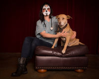 Day of The Dead veterinarian Royalty Free Stock Photo