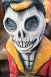 Day of the Dead wood carving Royalty Free Stock Photo