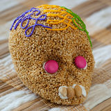 Day of the death. Traditional mexican candy. Stock Photography