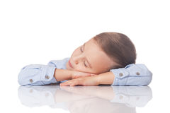 Day dreaming boy Royalty Free Stock Photography