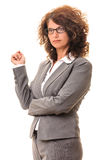 Day dreaming business woman Stock Photo