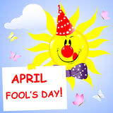 Day of the fool. Stock Images