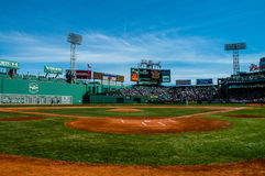 Day Game at Fenway Park, Boston, MA. Stock Image