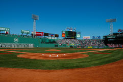 Day Game at Fenway Park, Boston, MA. Stock Photos