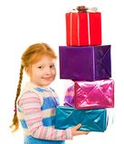Day of gifts Royalty Free Stock Image