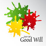 Day of Good Will. Stock Images