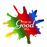Day of Good Will. Stock Photography