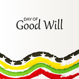 Day of Good Will. Royalty Free Stock Photos