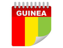 Day of guinea Royalty Free Stock Image