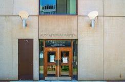 Day hall (McGill University) Royalty Free Stock Image