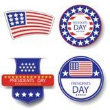 Day Icons总统 库存例证