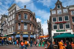Day of the King, Amsterdam Royalty Free Stock Photography