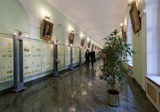 Day of Knowledge in the National Mineral Resources University, St. Petersburg, Russia Stock Images