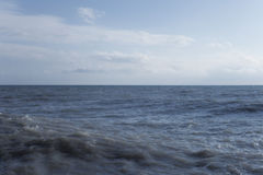 Day landscape with the sea Stock Images