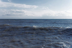 Day landscape with the sea Royalty Free Stock Images