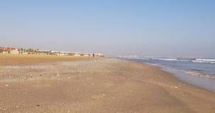 Day light valencia beach panorama 4k spain. Spain day light valencia beach panorama 4k stock footage