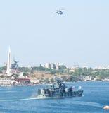 Day military marine sea fleet of Russia Stock Photo